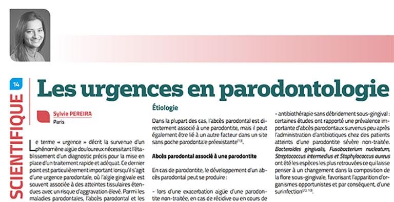 Les urgences en parodontologie